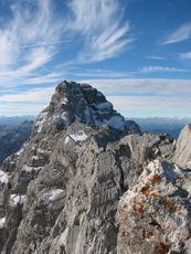 Near the top, Watzmann photo
