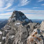 Near the top, Watzmann