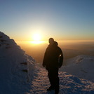 Snowdon summit sunrise