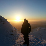 Snowdon summit sunrise