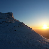 Sunrise at the summit, Snowdon