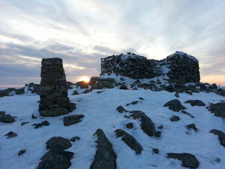 Scafell Summit Sunrise, Scafell Pike