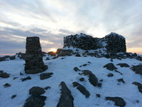 Scafell Summit Sunrise, Scafell Pike photo