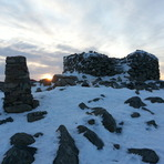 Scafell Summit Sunrise, Scafell Pike