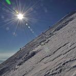 Climbing Ljuboten