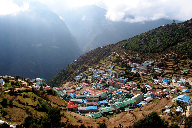 Namche Bazar, Mount Everest
