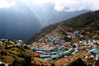 Namche Bazar, Mount Everest photo