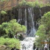 shevi (talleh zang)waterfall, Sanboran or Oshtoran Kooh
