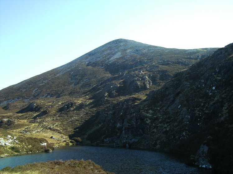Looking from Glas Lough towards Purple Mountain, Purple Mountain, County Kerry