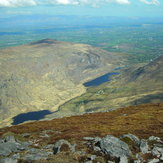 Looking from Purple Mountain into Gap of Dunloe, Purple Mountain, County Kerry