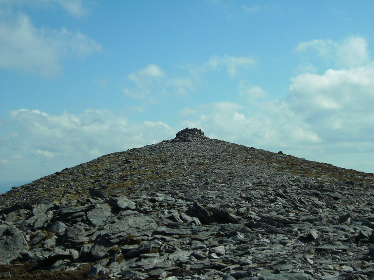 Looking towards the summit, Purple Mountain, County Kerry