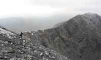 Carrauntoohil Summit slope across from Caher, Carrantuohill photo