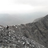 Carrauntoohil Summit slope across from Caher, Carrantuohill