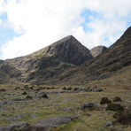 Carrauntoohil from the Hag's Glen, Carrantuohill