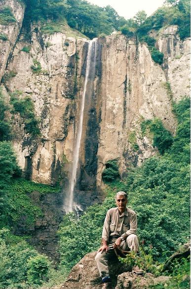 naser ramezani:laton waterfall, سبلان