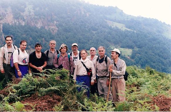 naser ramezani:spinas forest, سبلان