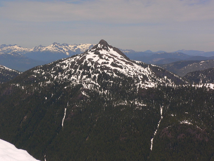 Vancouver Island Mountains By Difficulty