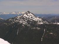 Klitsa Mtn from Mt Nahmint, Klitsa Mountain photo