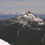 Klitsa Mtn from Mt Nahmint, Klitsa Mountain