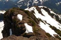 south ridge of Klitsa from summit, Klitsa Mountain photo