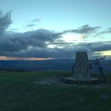 Stormy Sunset, Garth Mountain, Mynydd y Garth