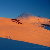 The North Face of Llaima Volcano