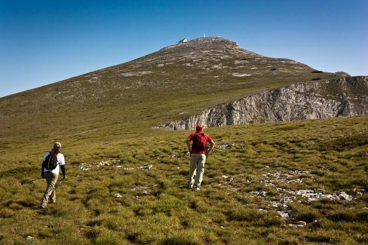 Before the summit, Solunska Glava
