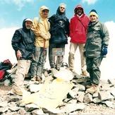 naser ramezani :  kholeno peak, Borj