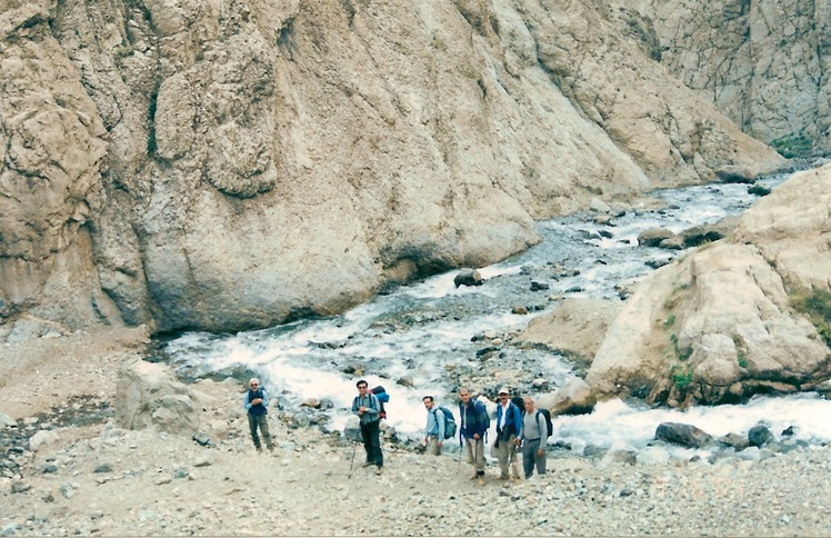 naser ramezani :  Kholeno mountain, Borj