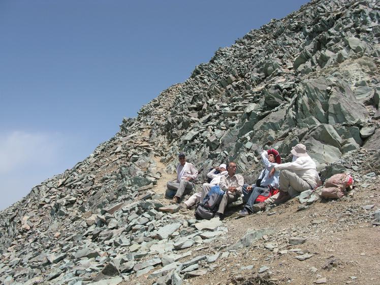 naser ramezani :  koloonbastak mount, Borj