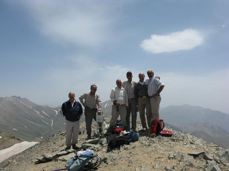 naser ramezani :  koloonbastak peak, Borj