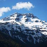 Tolhuaca Volcano from Laguna Blanca