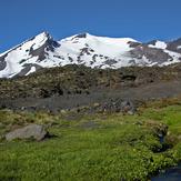Nevado de Chillan desde fin de las vegas, Nevados de Chillán