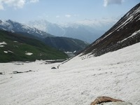 Approaching-the-gulley, Deo Tibba photo