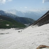 Approaching-the-gulley, Deo Tibba
