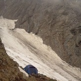 At-the-base-of-the-main-gulley, Deo Tibba