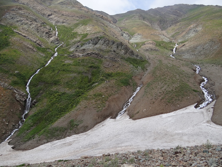 Lalon waterfall, Borj