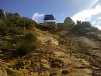 4x4 trail, Matroosberg photo