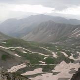 Lamkos, from the peak Tsukarela 2295m., Lakmos