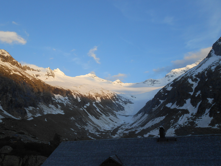 Hornkees Glacier, Turnerkamp
