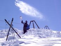 "Adrian Boom Shawn De Villiers ""TOO MUCH SNOW"", Matroosberg photo"
