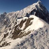 Hanuman Tibba from Tentu pass 5000m 04.06.13, Mount Hanuman Tibba