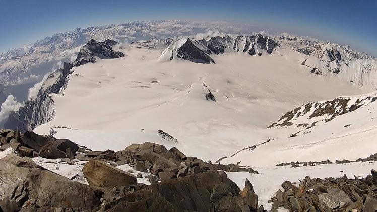Summit panorama, Mount Hanuman Tibba