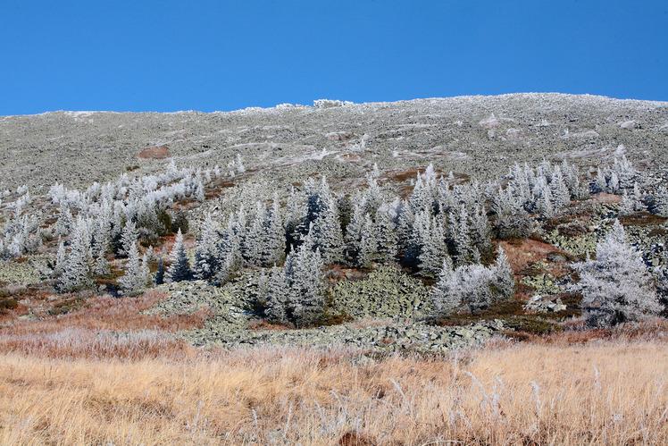 southwest plateau of Iremel