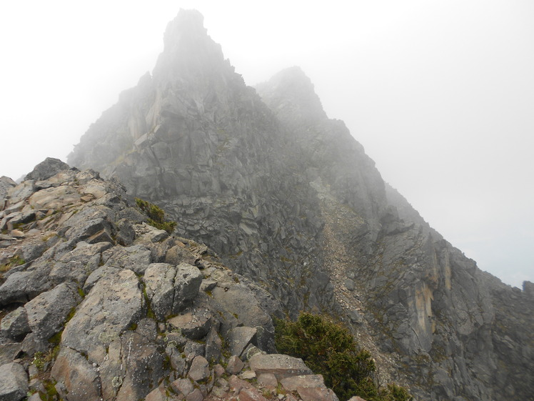Nevado de Colima South peak