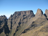 Cathkin Peak, Drakensburg, Champagne Castle photo