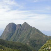 Pico Paraná visto da trilha para o monte Itapiroca