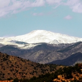 Colorado Springs USA, Shawnee Peak, Colorado
