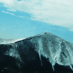 The Snow in Colorado Mountain, Shawnee Peak, Colorado