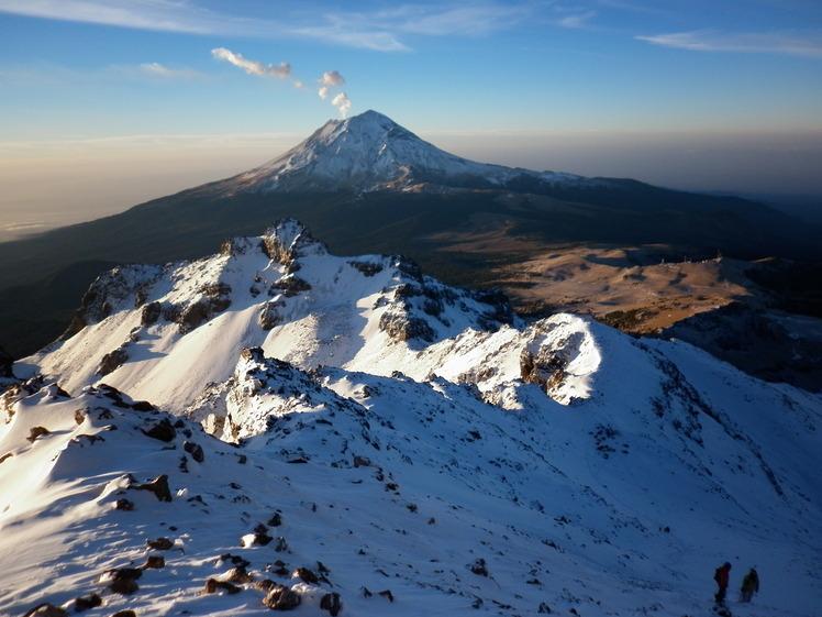 Iztaccihuatl Mountain Information